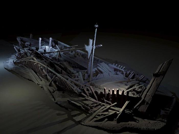 Foto: (Dr Rodrigo Pacheco-Ruiz/Black Sea MAP)/Ilustrasi Kisah Nabi Nuh dan Umat yang Tenggelam karena Azab Allah SWT