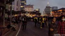 Demo di Patung Kuda Usai, Massa KASBI dan Mahasiswa Bubar