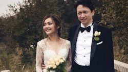 Resmi Nikah di Belanda, Begini Kebahagiaan Rina Nose dan Josscy