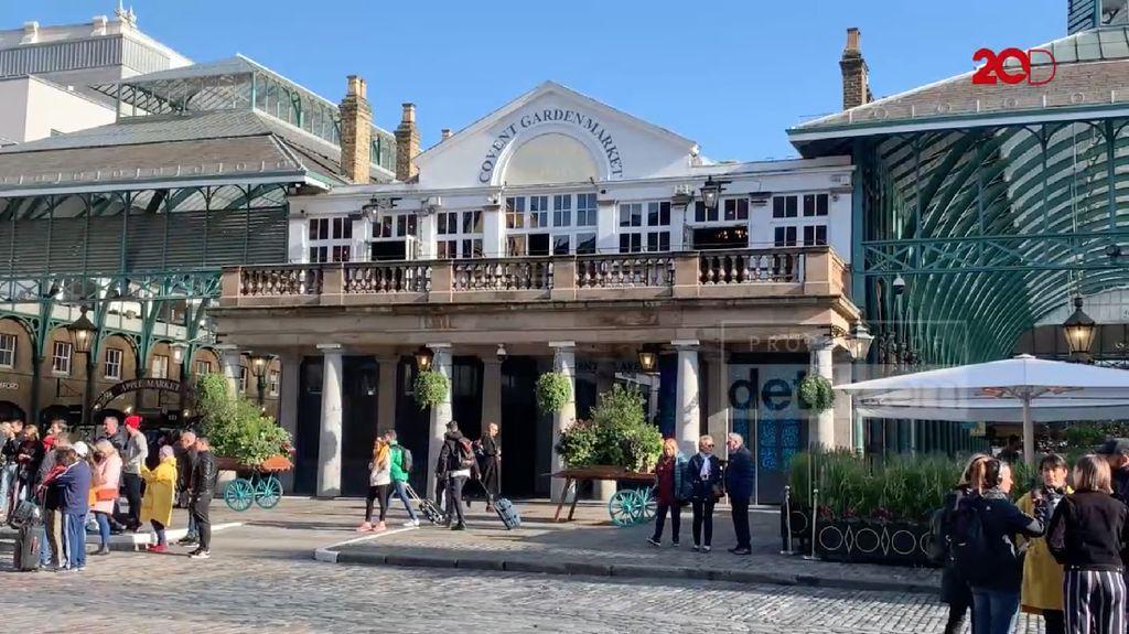 Covent Garden, Kawasan Paket Lengkap untuk Turis di London