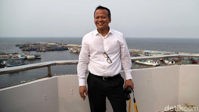 Menteri kelautan dan Perikanan Edhy Prabowo (Foto: Pradita Utama/detikcom)