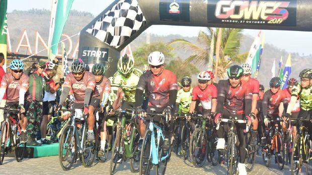 Mandalika Gowes 2019, Promosikan Indahnya Lombok Lewat Sepeda