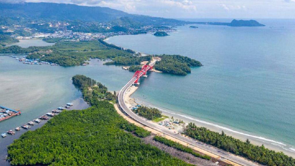 Kilas Balik Jembatan Youtefa, Kebanggaan Jokowi di Papua
