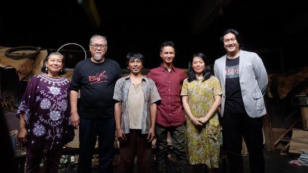 Setelah 40 Tahun, Teater Koma Pentaskan 'J.J Sampah-sampah Kota'