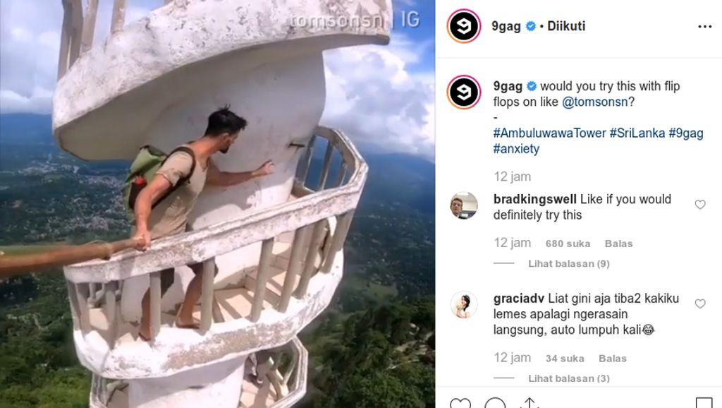 Postingan Instagram 9GAG Ini Bikin Kaki Lemas
