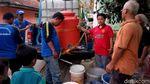 Kekeringan, Tagana Ciamis Distribusikan Air Bersih Pakai Toren