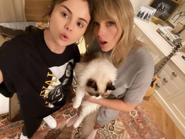 Selena Gomez dan Taylor Swift. Foto: Dok. Instagram