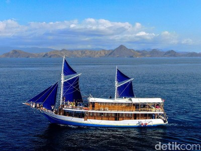 Kapal Pesiar Klasik di Labuan Bajo, Ternyata Keren Banget!