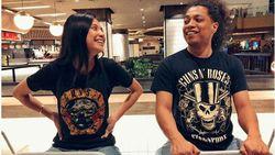Momen Damai Arie Kriting dan Keluarga Indah Permatasari