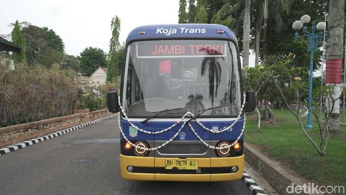 Capsule Bus di Jambi (Ferdi/detikcom)