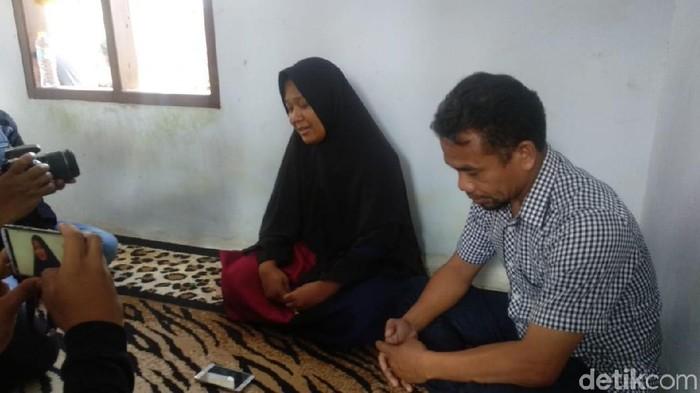 Foto: Ortu Yusuf berharap kasus kematian anaknya terungkap (Siti-detikcom)