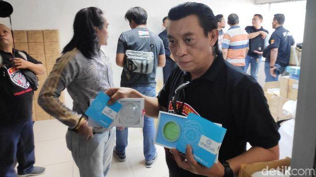 Tim Cobra Polres Lumajang Geledah Kantor QNet di Setiabudi Jaksel