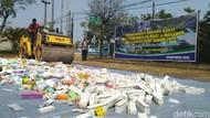 Obat Ilegal dan Kedaluwarsa Senilai Rp 3 M Dimusnahkan di Semarang