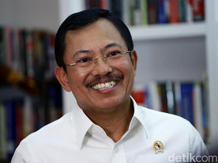 Menteri Kesehatan Terawan Agus Putranto (Muhammad Ridho/detikcom)
