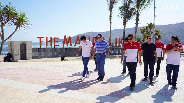 DORNA tinjau pembangunan Sirkuit Mandalika (Foto: Indonesia Tourism Development Corporation (ITDC))