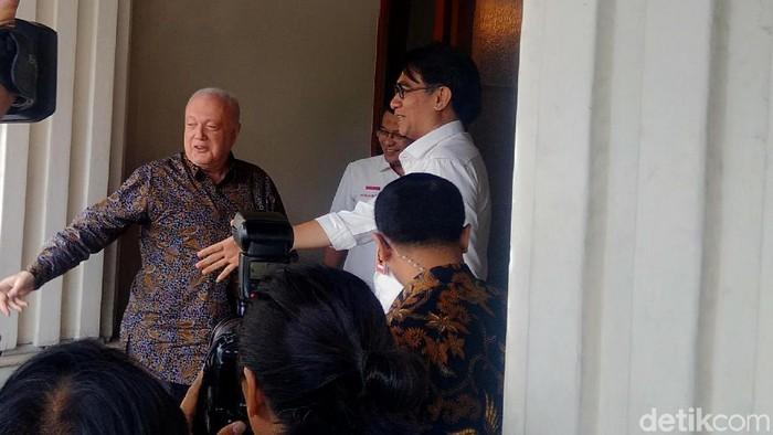 Duta Besar Australia untuk Indonesia, Gary Quinlan, mendatangi kantor Kemenko Polhukam (Foto: Ahmad Bil Wahid/detikcom)