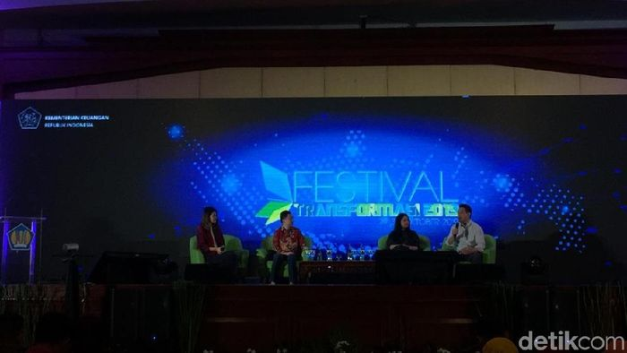 Foto: Diskusi Teknologi Bisnis (Vadhia Lidyana/detikFinance)