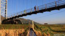 Pesona Jembatan Gantung Panyindangan