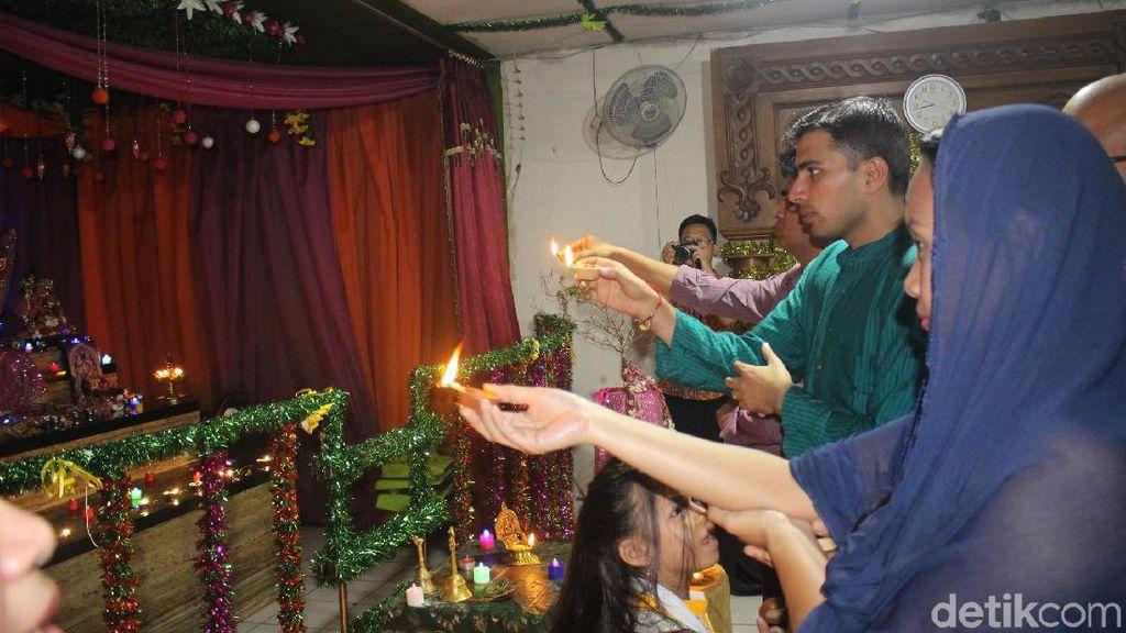 Suasana Perayaan Diwali di Little India Jakarta