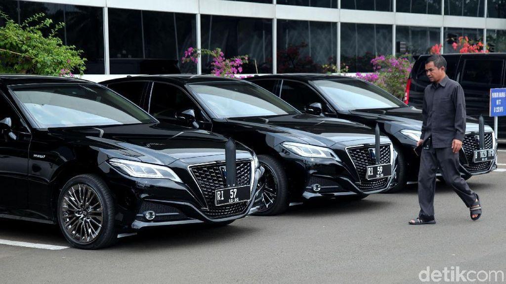 Begini Tampang Mobil Anyar Pimpinan DPR-MPR