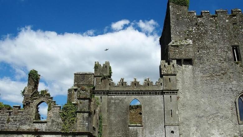 Leap Castle, kastil angker di Republik Irlandia (Foto: iStock)