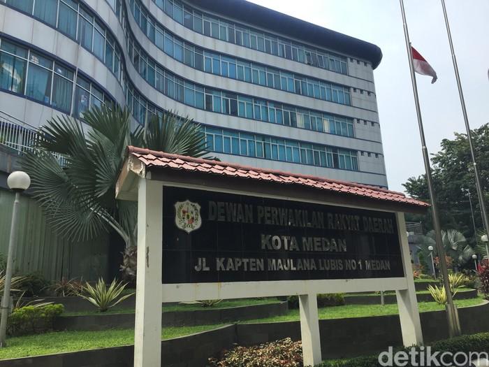 DPRD Kota Medan (Khairul Ikhwan Damanik/detikcom)