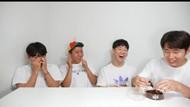 Hari Jisun Oleh-olehi Temannya Belalang dan Jangkrik Goreng Saat ke Korea