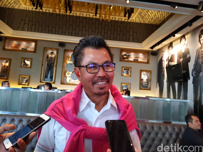 Djoko Tata Ibrahim. Foto: Agus Tri Haryanto/inet