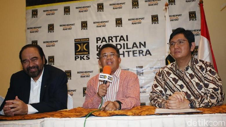 Saling Kunjung PKS-NasDem, Sohibul: Boro-boro Bahas Pilpres 2024