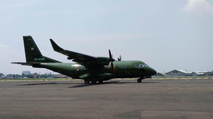 Pesawat buatan PTDI pesanan Nepal/Foto: Mochamad Solehudin/detikcom