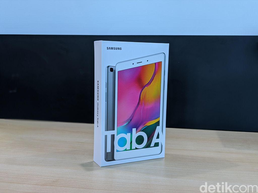 Inilah Galaxy Tab A 2019 8 Inch. Foto: Adi Fida Rahman/detikINET