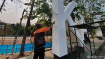 Landmark Kota Bekasi yang Dipenuhi Coretan Kini Dicat Ulang