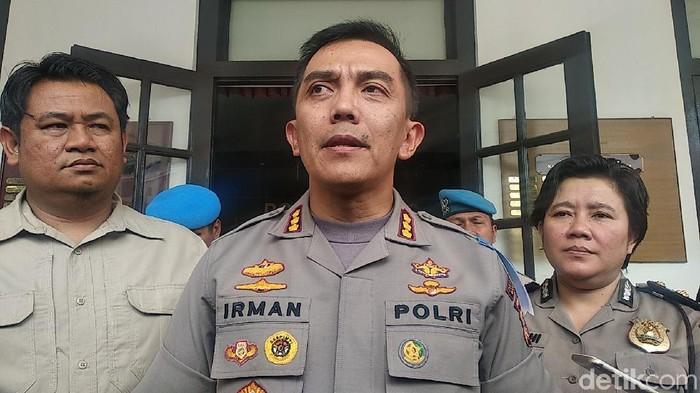 Kapolrestabes Bandung Kombes Irman Sugema (Dony Indra Ramadhan/detikcom)