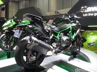 Kawasaki Z H2, Monster Baru Bermesin Supercharger