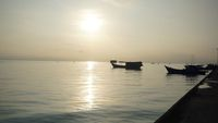Senja di Pulau Laut