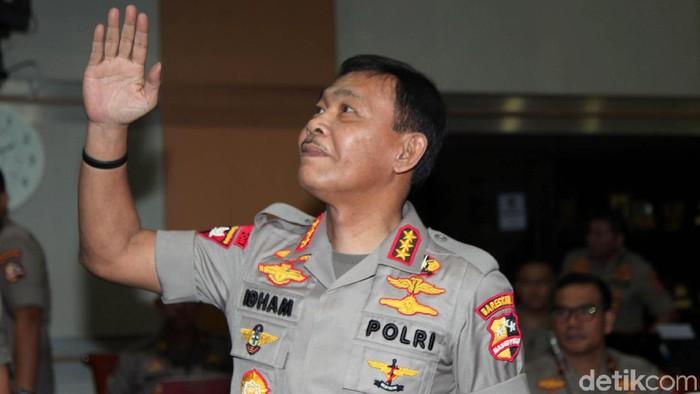 Komjen Idham Azis (Lamhot Aritonang/detikcom)