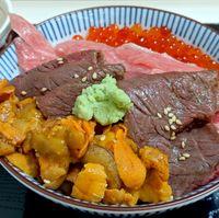 Mau Coba? Ini Rice Bowl Isi Wagyu Panggang dan Sashimi Tuna