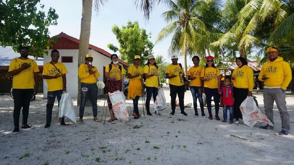 Penjaga Surga Kepulauan Kei dari Sampah yang Terserak