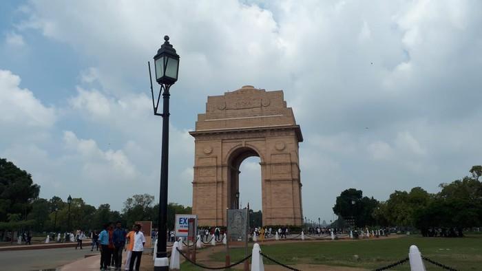Foto: India Gate, New Delhi (Haris Fadhil/detikcom)