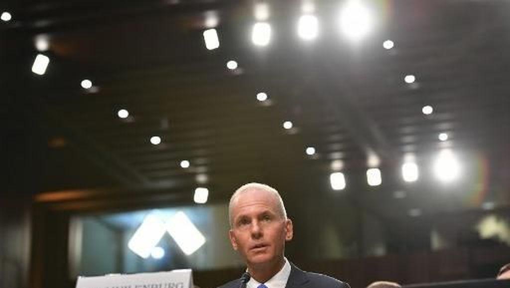 Kongres AS Tuding CEO Boeing Tutupi Fakta Permasalahan 737 MAX