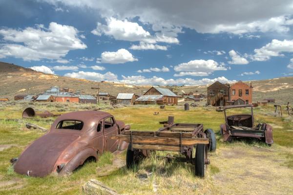 Area bekas kota tambang seringkali jadi tempat wisata. Begitu pula dengan kota ini, Bodie. Bedanya kota ini sudah ditinggalkan dan punya kutukan. Istimewa/dok.iStock