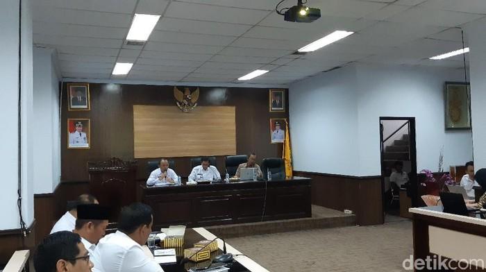 Pertemuan KPK dengan Pemkot Serang sebagai upaya pencegahan korupsi. (Bahtiar Rivai/detikcom)