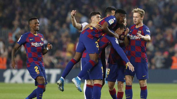 Barcelona baru meraih dua kemenangan dalam laga tandang Liga Spanyol musim ini.