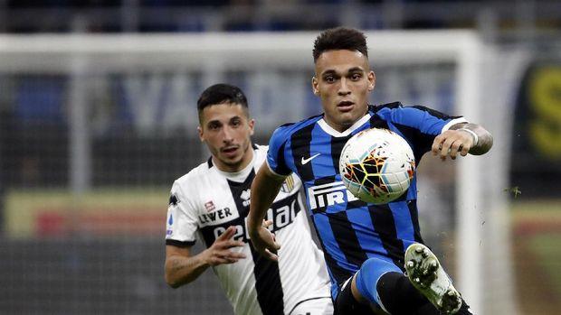 Hasil Liga Italia: Inter Milan Kalahkan Brescia 2-1
