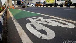 Catat! Ini 17 Titik yang Diberlakukan Pergub Jalur Sepeda di DKI