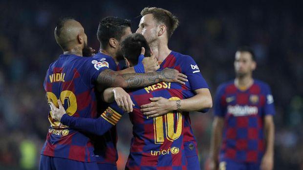 Para pemain Barcelona sepakat dengan pemotongan gaji.
