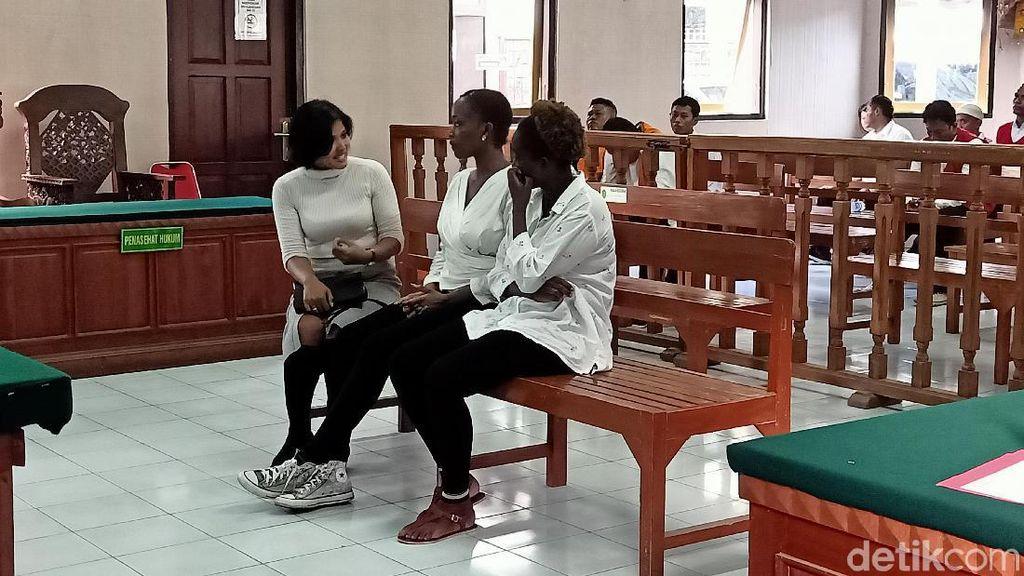 2 WN Kenya Pengeroyok Wanita di Bar Kuta Dituntut 8 Bulan Penjara