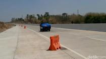 Ini Penampakan Km 65 Tol Pandaan-Malang Lokasi Water Barrier Bergerak Sendiri