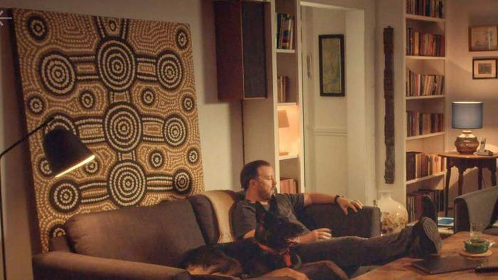 Gunakan Lukisan Tiruan Tanpa Izin, Aktor Ricky Gervais Bayar Ganti Rugi ke Seniman Aborijin