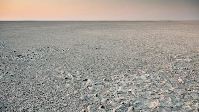 Danau Makgadikgadi sekarang. Foto: Live Science